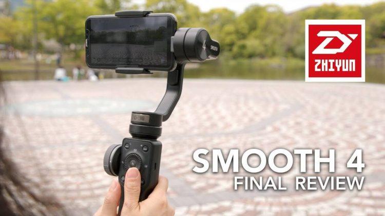 O Estabilizador SMOOTH 4 leva seus vídeos de smartphones a um novo nível: Hand-On